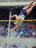 2012 atletismo - salto con pértiga de las señoras Imagen de archivo