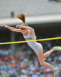 2012 atletismo - Vault das senhoras pólo Imagens de Stock Royalty Free