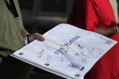 2012 authographs mistrzostwa gracze Zdjęcie Royalty Free