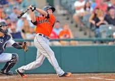 2012 béisbol de la liga menor - jarra de Bowie Baysox Foto de archivo libre de regalías