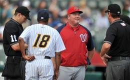 2012 béisbol de la liga menor - liga del este Foto de archivo libre de regalías
