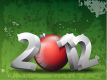 2012 background Royalty Free Stock Photo