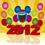 2012 background Stock Image
