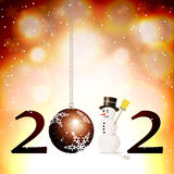 2012 background Royalty Free Stock Image
