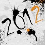 2012 background Royalty Free Stock Photo