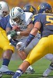 2012 balompié del NCAA - Baylor @ WVU Imagenes de archivo
