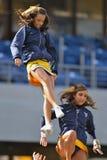 2012 balompié del NCAA - Baylor @ WVU Foto de archivo