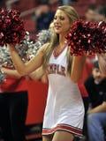2012 baloncesto del NCAA - animadora Imagenes de archivo