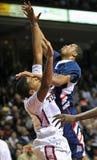 2012 baloncesto del NCAA - facial Imágenes de archivo libres de regalías