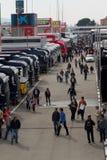 2012 Barcelona padok f1 Zdjęcie Royalty Free