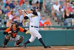 2012 base-ball de Ligue Mineure - pâte lisse de Trenton Photographie stock libre de droits