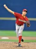 2012 baseball della Lega Minore - lega orientale Immagine Stock Libera da Diritti