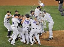 2012 basebol do campeonato menor - campeão oriental de Lge Fotografia de Stock Royalty Free