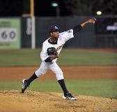 2012 basebol do campeonato menor - jarro Imagens de Stock Royalty Free