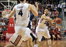 2012 basket-ball de NCAA - passage Photographie stock