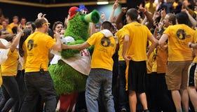 2012 Basketball der NCAA-Männer - Drexel - JMU Lizenzfreies Stockbild