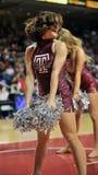 2012 basquetebol do NCAA - líder da claque Foto de Stock