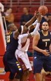 2012 basquetebol dos homens do NCAA - corujas do templo Fotografia de Stock Royalty Free