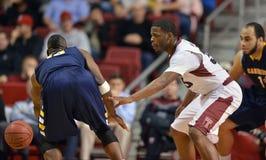 2012 basquetebol dos homens do NCAA - corujas do templo Imagens de Stock