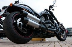 2012 bauten Harley Davidson NachtrodSpecial auf Stockbild