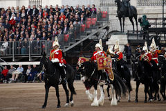 2012, Beating Retreat Royalty Free Stock Photography