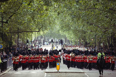 2012, Beating Retreat Royalty Free Stock Images
