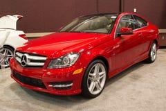 2012 Benz van Mercedes C250 Stock Afbeelding