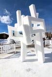 2012 Breckenridge Snow Sculpture Competition stock image