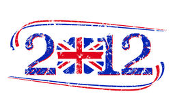 2012 British flag Stock Images