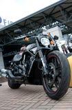 2012 budowali Harley Davidson Noc Rod Dodatek specjalny Obrazy Royalty Free