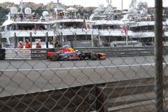 2012 byka uroczysty Monaco prix czerwieni vettel Obraz Royalty Free