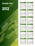 2012 Calendar. Abstract Background Illustration Vector Illustration
