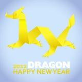 2012: Cartolina d'auguri di nuovo anno Fotografie Stock Libere da Diritti