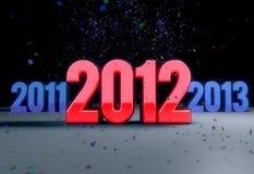 2012 celebration Stock Photos