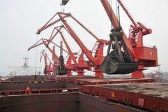 2012 Chinas Abnahme in der Nachfrage nach Eisenerz Lizenzfreie Stockfotos