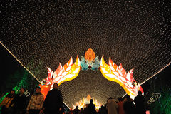 2012 Chinese New Year lantern festival Royalty Free Stock Photo