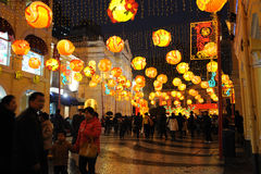 2012 chinese new year in macau Royalty Free Stock Images