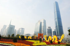 2012 chinese spring festival in guangzhou Stock Photography
