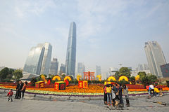 2012 chinese spring festival in guangzhou Stock Photo