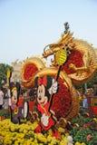 2012 chinesisches neues Jahr in Hong Kong Disney Stockbild