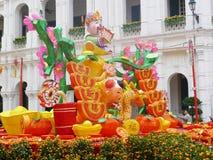 2012 chinesisches neues Jahr in Macau Stockbild