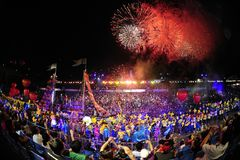 2012 chingay парад singapore Стоковая Фотография
