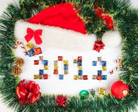 2012 Christmas background Royalty Free Stock Photos