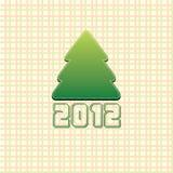 2012 christmas concept Stock Image