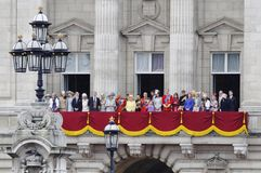 2012 colour London target3877_0_ Fotografia Royalty Free