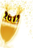 2012 comemoram o ano Fotos de Stock Royalty Free
