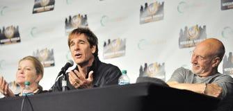 2012 Comic Con - Scott Bakula, Patrick Stewart, Royalty Free Stock Image