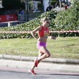 2012, corredor de maratón de Londres Foto de archivo libre de regalías