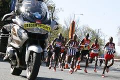 2012, corredor de maratón de Londres Fotografía de archivo