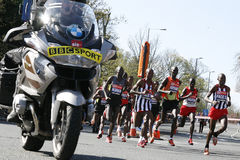 2012, corredor de maratona de Londres Fotografia de Stock